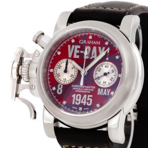 Graham Chronofighter VE-DAY Limited Edition Ref. 2CFBS.R01A.L30B
