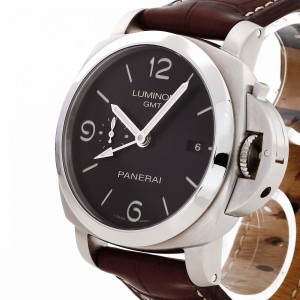 Panerai Luminor 1950 3 Days GMT Edelstahl PAM320 / PAM00320