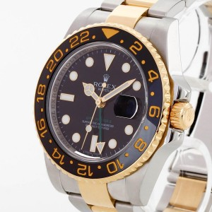 Rolex Oyster Perpetual GMT-Master II Edelstahl/Gelbgold Ref. 116713