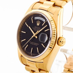 Rolex Oyster Perpetual Day-Date 18 K Gelbgold Ref. 183038