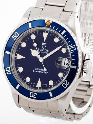 Tudor Prince Oysterdate Submariner Blau Ref. 75090