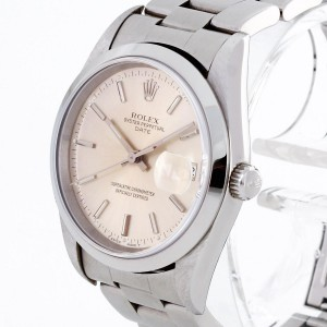 Rolex Oyster Perpetual Date Edelstahl Ref. 15200