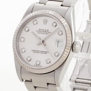 Rolex Datejust Medium Edelstahl/Weißgold Ref. 78274