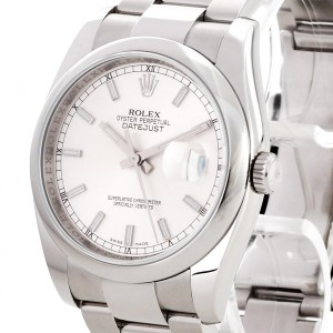 Rolex Oyster Perpetual Datejust 36mm Edelstahl Ref. 116200