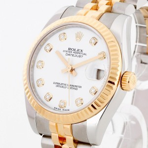 Rolex Oyster Perpetual Lady Datejust Medium 31mm full set Ref. 178273 LC100