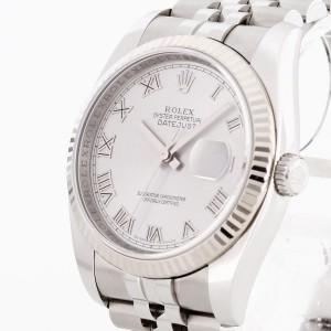 Rolex Oyster Perpetual Datejust Weißgold/Edelstahl Ref. 116234