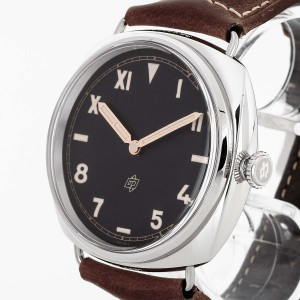 Panerai Radiomir California 3 Days stainless steel with leather strap Ref. PAM 00424
