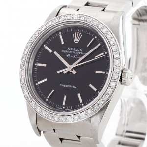 Rolex Oyster Perpetual Air-King Precision Edelstahl Ref. 14010M