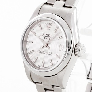 Rolex Oyster Perpetual Date Lady aus Edelstahl Ref. 79160
