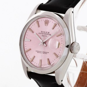 Rolex Oyster Perpetual Date an Lederband Ref. 1500