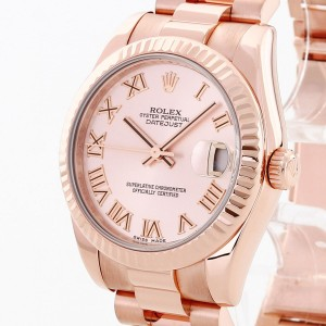 Rolex Oyster Perpetual Datejust 31 Roségold Ref. 178275F