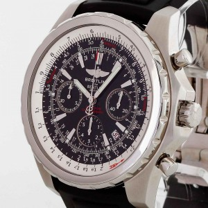 Breitling Bentley Motors stainless steel with natural rubber strap Ref. A25363