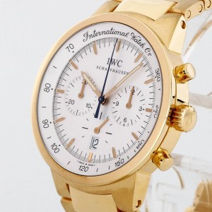 IWC Schaffhausen GST Chronograph 18 K Gelbgold Ref. IW9577-001