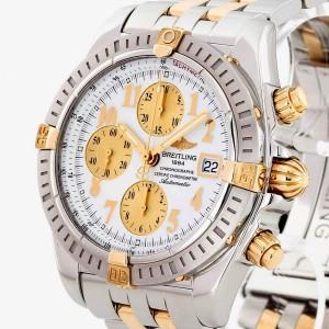Breitling Chronomat Evolution 44 Edelstahl/18 K Gold Ref. B13356