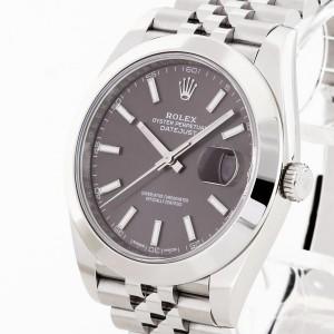 Rolex Oyster Perpetual Datejust II 41 Edelstahl Ref. 126300 LC100 Fullset