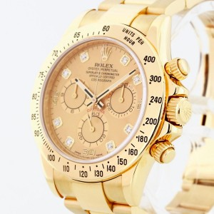 Rolex Oyster Perpetual Cosmograph Daytona 18 K Gelbgold Ref. 116528