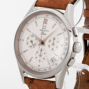 Zenith Prime Chronograph stainless steel Ref. 01-0010.420