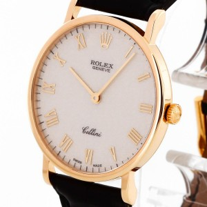 Rolex Cellini 18 k gold with jubilé dial Ref. 5112