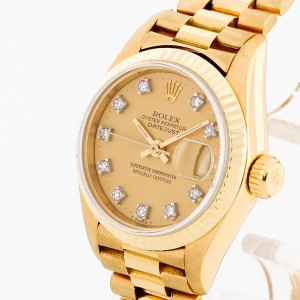 Rolex Oyster Perpetual Datejust Lady 26mm Gelbgold Ref. 69178