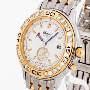 Chopard Mille Miglia Lady Diamonds Edelstahl/18 K Gold Ref. 13/8199