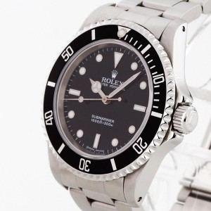 Rolex Oyster Perpetual Submariner No Date Edelstahl Ref. 14060M