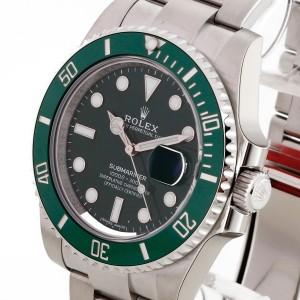 "Rolex Oyster Perpetual Submariner Date Grün ""Hulk"" Edelstahl Ref. 116610LV"