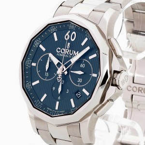 Corum Admiral's Cup Legend 42 stainless steel Ref. 984.101.20/V705 AB10 unworn
