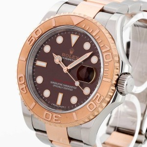 Rolex Oyster Perpetual Date Yacht-Master Edelstahl/18 K Rosegold Ref. 116621