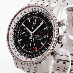 Breitling Navitimer World Chronograph Edelstahl Ref. A2432212
