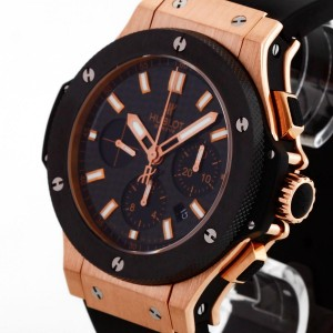 Hublot Big Bang Evolution 18 K Rotgold / Keramik an Kautschukband Ref. 301.PM.1780.RX