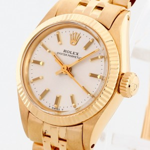 Rolex Oyster Perpetual Lady Gelbgold Ref. 6719