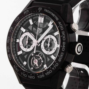 TAG Heuer Carrera Tourbillon Titan PVD beschichtet CAR5a8W.FT6071