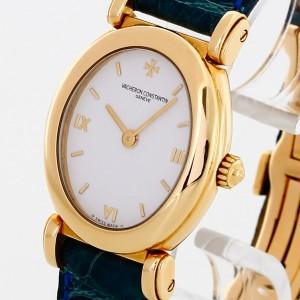 Vacheron Constantin Lady 18 K Gold mit Lederband Ref. 10040/000J