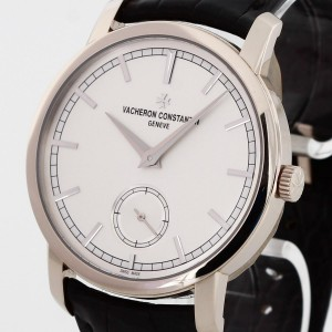 Vacheron Constantin Patrimony white gold with leather strap Ref. 82172/000G