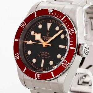 Tudor Heritage Black Bay Red Automatik Edelstahl Ref. 79220R LC100