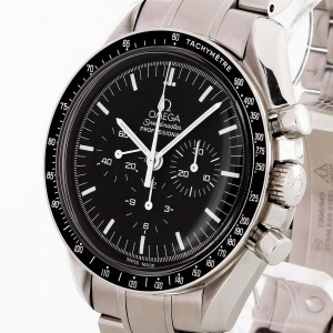 Omega Speedmaster automatic Chronograph stainless steel Ref. 35133000