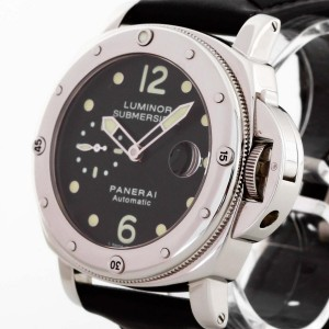 Panerai Luminor Submersible A-Serie Edelstahl an Lederband Ref. OP6506