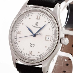 Chronoswiss Pacific Edelstahl/Lederband Ref. CH2813