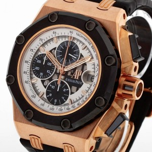 Audemars Piguet Royal Oak Offshore Rubens Barrichello 18 K Rosegold Ref. 26078RO.OO.D002CR.01