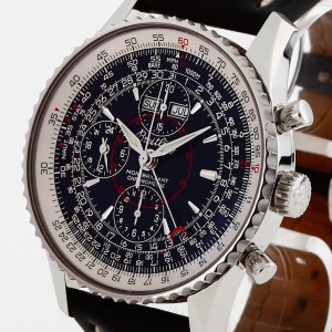 Breitling Navitimer Montbrilliant Datora Chronograph stainless steel with leather Ref. A21330
