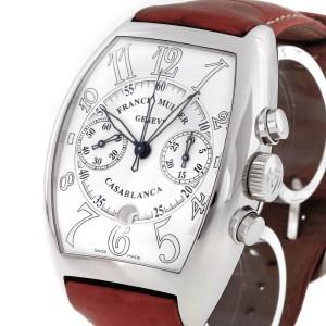 Franck Muller Casablanca Edelstahl an Lederband Ref: 8885 C CC DT