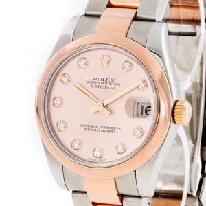 Rolex Oyster Perpetual Lady Datejust Medium 31mm 18 K Rosegold Ref. 178241 LC100