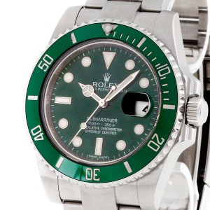 "Rolex Oyster Perpetual Submariner Date ""Hulk"" Ref. 116610LV - LC100"