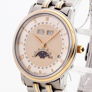 Blancpain Villeret Moonphase stainless steel / 18 k gold Ref. 6595