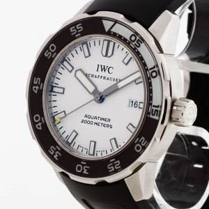IWC Schaffhausen Aquatimer Edelstahl Ref. IW356811