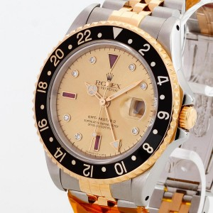 Rolex Oyster Perpetual GMT-Master II SERTI Edelstahl/Gelbgold Ref.16713