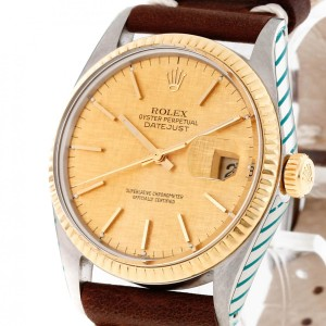 Rolex Oyster Perpetual Datejust 36 Edelstahl/18 K Gold Ref. 16013