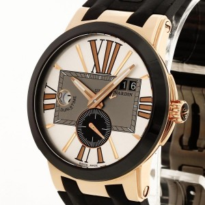 Ulysse Nardin Executive Dual Time 18 k rosé gold Ref. 246-00