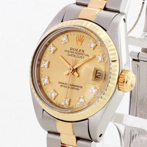 Rolex Oyster Perpetual Datejust Lady mit orig.Diamantblatt Ref. 6917