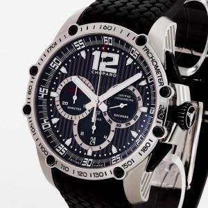 Chopard Superfast Chrono with black rubber bracelet Ref. 168523